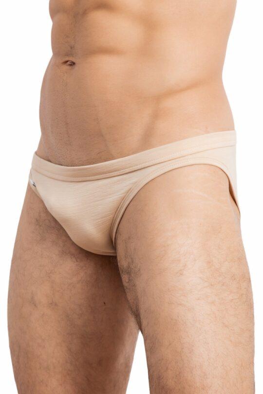 Italic Tanga Crumpled Nude